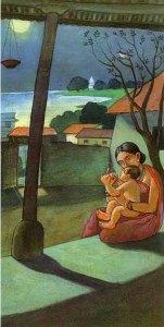 artist Ravishankar M Raval