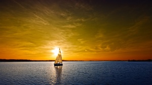 photo from http://www.wallpaper-wallpapers.com/2795-boat-sunset.html
